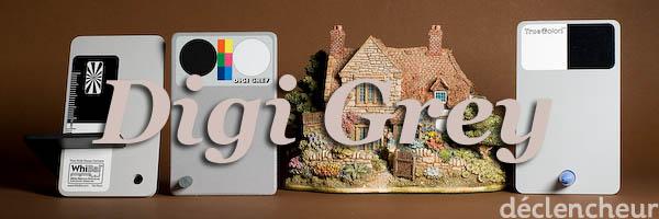 Comparaison TrueColors, WhiBal et Digi Grey : DigiGrey comme référence