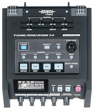 Edirol R-44 : un enregistreur 4 pistes portable