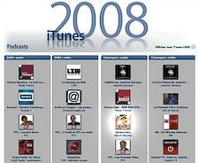 Le meilleur de 2008 selon iTunes
