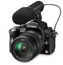 Lumix GH1, un caméscope dans un corps de reflex ?