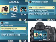 Nikon D3000 : innovation logicielle