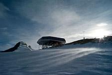 """Station """"impact zéro"""" en Antarctique"""