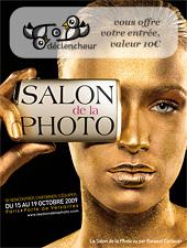Votre entrée gratuite au Salon de la Photo 2009