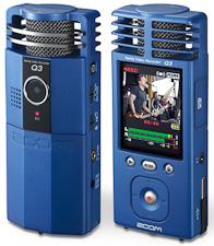 Zoom Q3 convergence audio/vidéo