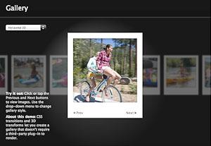La galerie photo en HTML5