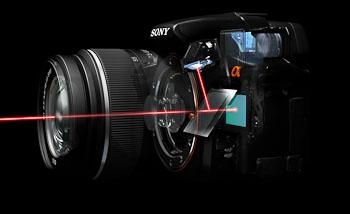 Sony Alpha SLT-A33, SLT-A55 à la Photokina
