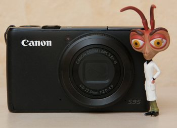 Canon Powershot S95, compact expert