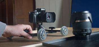 Un Dolly Skater pour la vidéo