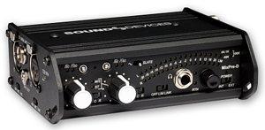 Sound Devices MixPre-D au NAB 2011
