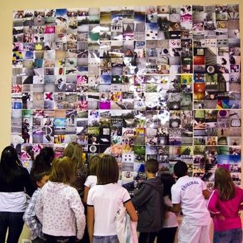 Recyclez vos photos, créez une mosaïque !