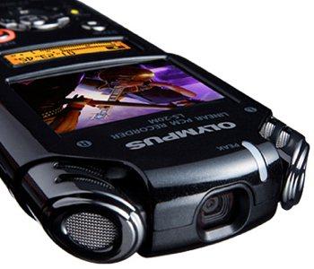 Olympus LS-20M : l'enregistreur/camera