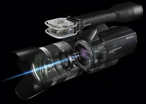 Sony NEX-VG10E, le retour du caméscope ?
