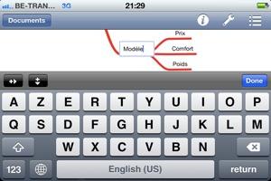 Ecrire en anglais avec un iPad