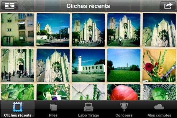 Collection de photos