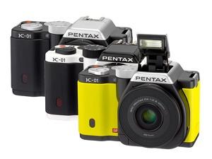 Pentax K-01 : l'original
